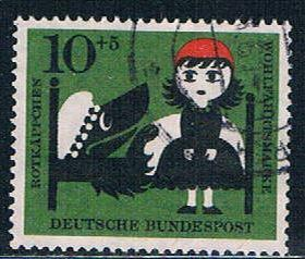 Germany B373 Used Scenes Little Red Riding Hood (GI0636P182)+
