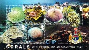 Stamps British Indian Ocean Territories (BIOT) -  Corals of The British Indian O