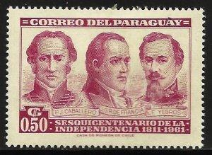 Paraguay 1961 Scott# 583 MH