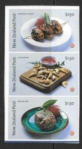 NEW ZEALAND 2004 WILD FOODS S/ADHESIVE  MNH