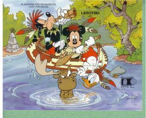 Disney - Lesotho -1992 - World Columbian Expo - S/S