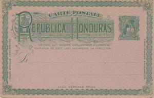 Honduras Higgins & Gage 20 Unused.