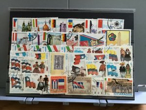 Flags on    stamps  R26634