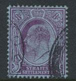 Straits Settlements Edward VII SG 131  Used