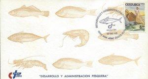 Costa Rica Fishery Development Administration, Fisherman Fish Sc 286 FDC 1983