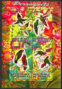 Djibouti 2013 Birds (2) Parrots MNH Cinderella !