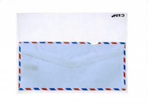 CS296 Uganda 1988 Airmail Cover {samwells-covers}