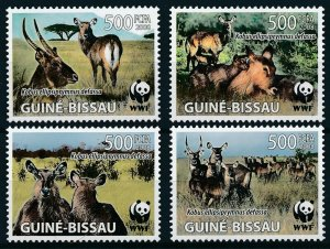 Guinea-Bissau MNH Set Antelope Fauna 2008