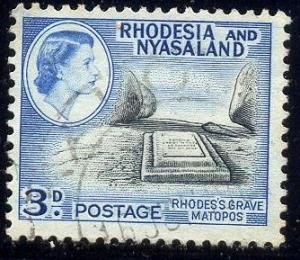 Rhodes' Grave, Matopos, Rhodesia & Nyasaland SC#162 Used