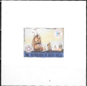 Upper Volta US Bi-Centennial proof card #C242 Airmail  Ships