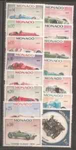 Monaco SC 648-61,C73 Mint, Never Hinged