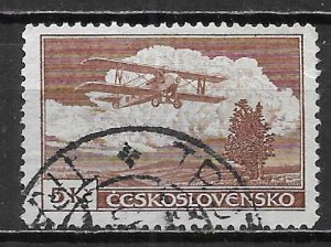 Czechoslovakia C15 5k 1930 Airmails single Used (z1)
