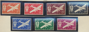 Somali Coast (Djibouti) Stamps Scott #C1 To C7, Mint Never Hinged - Free U.S....