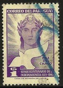 Paraguay 1961 Scott# 592 Used