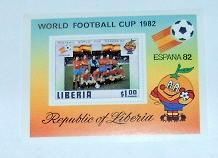 Liberia - 892, MNH S/S. Soccer. SCV - $3.50