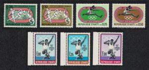 Haiti Olympic Games Los Angeles 7v SG#1515-21 MI#1465-1471 SC#795-801