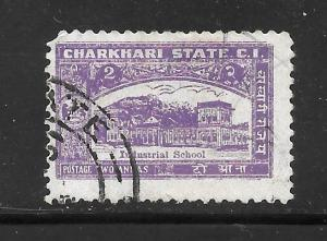 India  Charkhari #30 Used Single