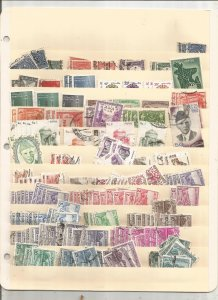 PAKISTAN COLLECTION ON STOCK SHEET, MINT/USED