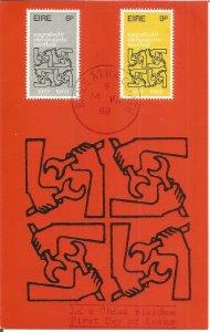 Maximum Card EIRE 1969 International Labour Organisation 50th Anniversary U3792