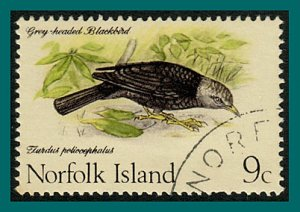 Norfolk Island 1970 Birds 1,Thrush, used #132,SG109