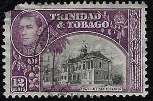 Trinidad & Tobago Scott 57 San Fernando Town Hall Used