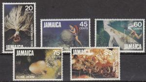 Jamaica - 1982 Marine life Sc# 523/527 - MNH (484N)