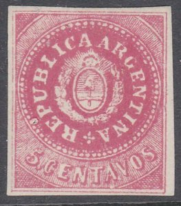 ARGENTINA  An old forgery of a classic stamp................................C991