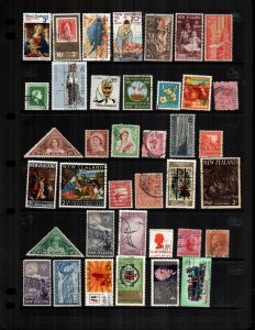New Zealand  37  different used