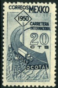 MEXICO 869, 20c Completion of Panamerican Hwy. Unused.