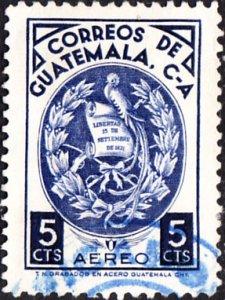 Guatemala #C337  Used  p12.5