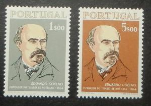Portugal 940-41. 1964 Eduardo Coelho, journalist
