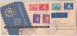 NETHERLANDS EAST INDIES, 1939 Social Bureau & Protestant Funds, Stamp Centenary