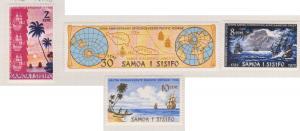 Samoa Sc#361-364 MH