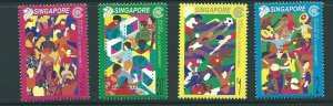 SINGAPORE SG1089/92 2001 COMMONWEALTH DAY MNH