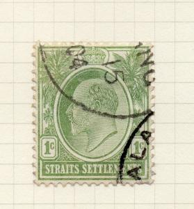 Malaya Straights Settlements 1904 Early Issue Fine Used 1c. 298872