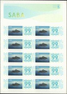 2014 Caribbean Netherlands (SABA) #42, Complete Set