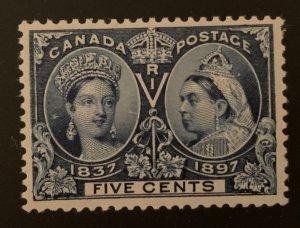 Canada #54 VF Mint NH Jubilee - C$300.00