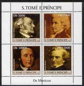 St Thomas & Prince Islands 2004 Classical Composers p...
