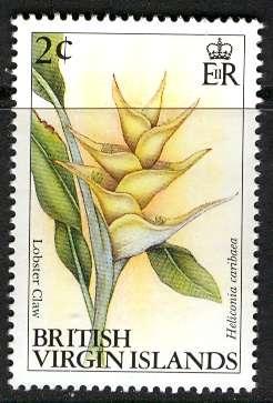 Britisih Virgin Islands; 1991-92: Sc. # 693: **/MNH Single Stamp