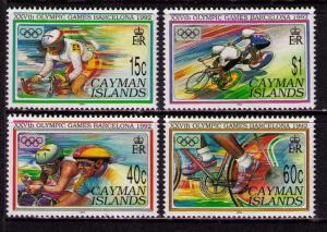 CAYMAN ISLANDS Sc# 653 - 656 MNH FVF Set4 Summer Olympics