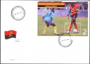 Angola 2006 Football Soccer Germany 2006 S/S FDC
