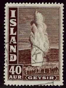 Iceland  SC#207 Used F-VF SCV$32.50...An Amazing Place!