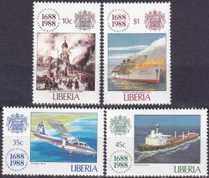 Liberia #1101-4 MNH CV $5.25 (A19187)