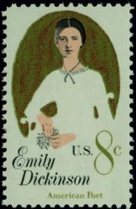 1436 Emily Dickenson F-VF MNH single