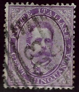 Italy SC#50 Used VF hr SCV$22.50...Worth a Close Look!