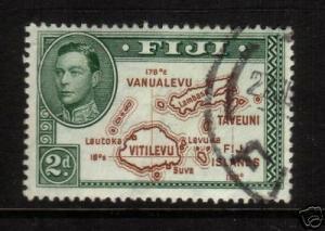 FIJI 1938 2d  KGVI  DIE2  FU   SG 254