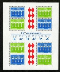Monaco Scott 1425a Mint NH (Catalog Value $20.00) - 1984 Europa
