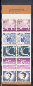 Sweden Sc 918a 1972  Lady Athletes stamp bklt of 10 mint NH