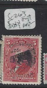 ECUADOR  (P0203B)    SC  263  INV OVPT  MOG