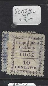 GUATEMALA   (P2403B)  OFFICIAL  SC O3-4   VFU